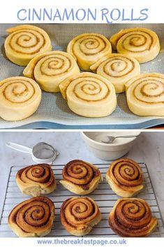 Scrumptious Homemade Cinnamon Rolls Cinnamon Butter, Cinnamon Rolls, Kneading Dough, Lemon Icing, Chocolate Roll, Yummy Treats, Tasty, Homemade, Baking