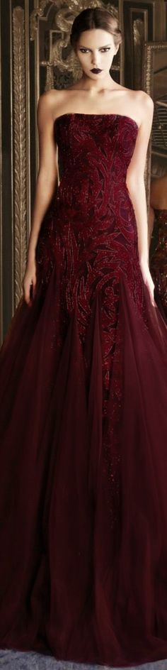 Essence of a woman Nice Dresses, Formal Dresses, Wedding Dresses, Amazing Dresses, Maroon Gowns, Shades Of Maroon, Beautiful Gowns, Couture Fashion, Ball Gowns