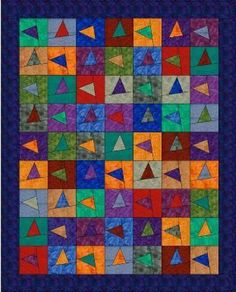 Those Wonky Triangles by GourmetQuilter | Quilting Pattern - Looking for your next project? You're going to love Those Wonky Triangles by designer GourmetQuilter. - via @Craftsy