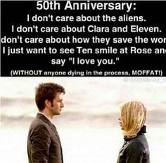 Honestly, I'm only watching for TenToo and Rose. But I don't doubt Moffat's going to find some way to screw it up.