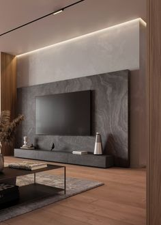 Apartment Interior, Living Room Interior, Home Living Room, Small Living Rooms, Home Room Design, Home Interior Design, Modern Tv Room, Modern Living Room Design, Modern Tv Wall Units