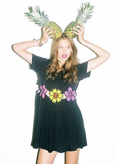 I love the Flower Pop Dress MORE but this has to go with my pineapple board :)