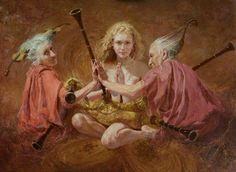 Yuri Klapouh [Юрий Клапоух]. Ukrainian figurative painter.