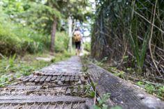 Barfusswanderweg Schweiz - Sentier Pieds Nus Rebeuvelier Railroad Tracks, Hotels, Travel, Barefoot, Pathways, Hiking, Ideas, Viajes, Destinations