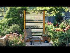 New Wooden Privacy Screen Garden Gates Ideas
