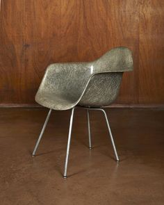 Charles Eames And Ray Early Dax Chairdesigned Executed 1950 For Herman Miller Zenith Plasticsrope Edge Fibergl Zinc Plated Steel Rubber