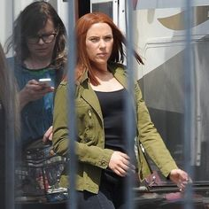 Scarlett Johansson and Samuel L. Jackson Arrive on Captain America: The Winter Soldier Set -- The stars of Anthony and Joe Russo's superhero sequel were spotted on the Los Angeles set yesterday. -- http://wtch.it/8H8Ww