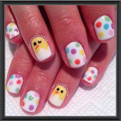michellerose222 easter #nail #nails #nailart