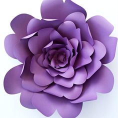 Make these lovely paper roses instead of buying flowers for paper flower template diy paper flower pattern paper flower tutorial paper flower backdrop large paper flower template wedding decor mightylinksfo