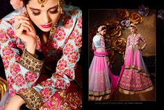 Ethnic Wedding Indian Choli Party Pakistani Traditional Lehenga Bollywood 2045…