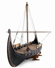 The Oseberg ship is a well-preserved Viking ship discovered in a large burial mound at the Oseberg farm near Tønsberg in Vestfold county, Norway. – Viking ships were marine vessels of unique structure , built by the Vikings during the Viking Age.