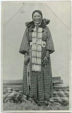 ELK ROBE , circa 1900
