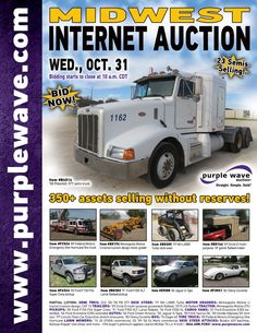 Midwest Auction  October 31, 2012  http://purplewave.co/121031A