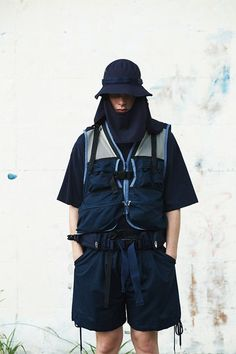 MEANSWHILE Spring Summer 2018 Sportswear Jackets Bags Pants