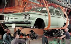 It built bombers in World War II, Kaisers afterward, and the Corvair in the Sixties Hydra-Matic transmissions. It served both Ford and General Motors, and it re Chevy, Chevrolet, General Motors, Vintage Cars, Antique Cars, Vintage Auto, Detroit Cars, Volkswagen, Toyota