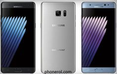 Samsung Galaxy Note 7 : Des images du mobile en fuites