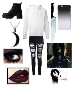 Female Jeff the Killer Cute Emo Outfits, Punk Outfits, Grunge Outfits, Fashion Outfits, Casual Outfits, Fashion Boots, Bad Girl Outfits, Skater Outfits, Batman Outfits