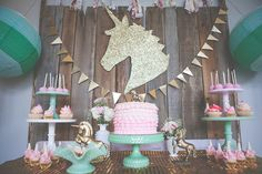 hello, Wonderful - MAGICAL VINTAGE UNICORN PARTY