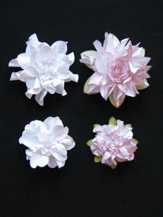 SIMPLY PAPER: Shabby Crinkle Flower Tutorial