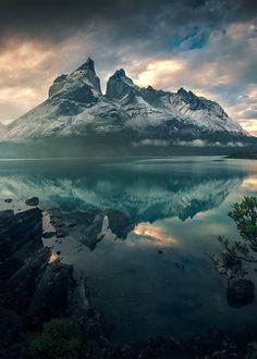 """coiour-my-world: """"maxrivephotography ~ Torres Del Paine NP, Patagonia, Chile. Image Nature, All Nature, Amazing Nature, Tumblr Photography, Nature Photography, Nature Pictures, Pretty Pictures, Beautiful Landscapes, The Great Outdoors"""