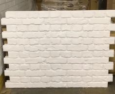 Easy to install very realistic Brick Wall boards available in our warehouse for quick delivery.