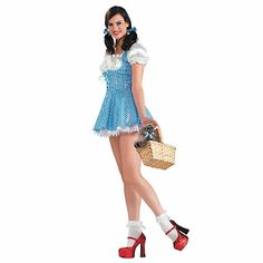 Sexy Halloween Costumes for Women, 2019 Adult Halloween Costume Ideas Wizard Of Oz Dorothy Costume, Dorothy Halloween Costume, Sexy Halloween Costumes, Adult Costumes, Adult Halloween, Work Appropriate Halloween Costumes, Halloween Party, Buy Costumes, Fantasy Costumes