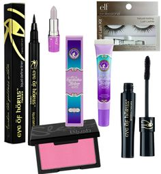 All About Eyes: Make Up Must Haves.  Loving the eye of horus products.