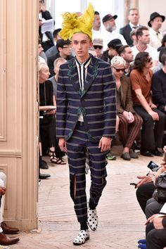 Comme des Garçons Homme Plus Spring Summer 2016 Primavera Verano #Menswear #Trends #Tendencias #Moda Hombre - Paris Fashion Week - F.Y!