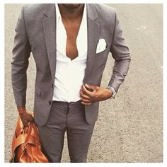 Grey Summer suit
