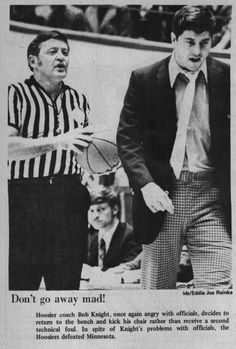 coach k and coach knight The lesson to take from this isn't about two management styles it's about analyzing yourself and being consistent in the way you approach management.