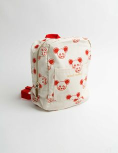 Mouse backpack RED
