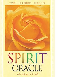 Spirit Oracle by Toni Carmine Salerno : Buy Online, Worldwide Shipping #buyindiaglobal #buytarot #tarotonline