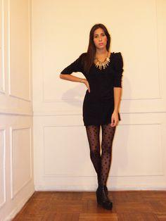#lookbook #AW #2014 #otoño #invierno #winter #LV #LasVaskas #moda #ropa #fashion #fashionista #vestido #pompones #lana #ootd