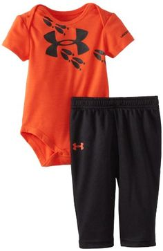 Under Armour Baby-Boys Newborn Track Bodysuit Set, Orange/Black, Months Baby Boys, Baby Boy Newborn, Under Armour Baby Boy, Diaper Bag, Everything Baby, Baby Time, Cute Baby Clothes, Baby Fever, Future Baby