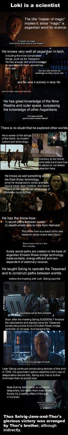 Loki is a scientist by acantharia on DeviantArt