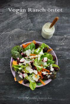 Mandy kertje és konyhája: Vegán Ranch öntet Vegan Ranch, Cobb Salad, Ale, Food, Eten, Ales, Meals, Diet