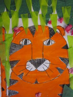 The first graders learned how to draw a simple tiger. We looked at how easy it would be to turn our tiger into a number of different animal...