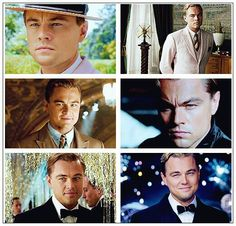 Leonardo DiCaprio- The Great Gatsby | This is my favorite movie. I don't know why. Something just forced me to love it.