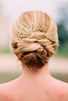 Splendid Wedding Updos Collection ❤ See more…
