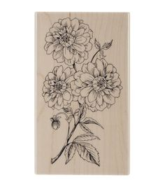 Penny Black Mounted Rubber Stamp 2.75