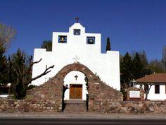 St Frances de Paula Mission, founded 1865, Tularosa, NM