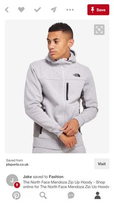 The North Face Mendoza Zip Up Hoody - Shop online for The North Face  Mendoza Zip Up Hoody with JD Sports, the UK's leading sports fashion  retailer.