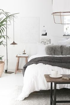 My home - bedroom tour. My Scandinavian Home blog.