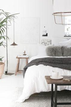 My home - bedroom tour. My Scandinavian Home blog.