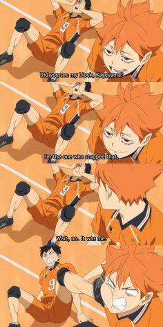 Haikyuu Funny, Haikyuu Fanart, Haikyuu Anime, Oikawa, Kageyama, Manga, Kagehina Cute, Haikyuu Volleyball, Anime Nerd