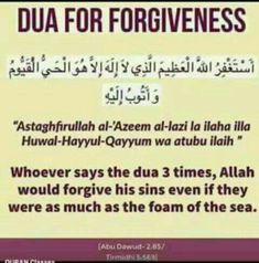 Dua for forgiveness Hadith Islam, Duaa Islam, Islam Quran, Alhamdulillah, Allah Islam, Forgiveness Quotes, Allah Quotes, Muslim Quotes, Long Distance