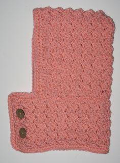 Textured Toddler Hood - Ochre Pome: Modern Crochet