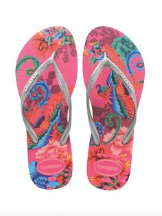 Havaianas Slim Tropical Orchid Rose | Collected by LeeAnn Yare