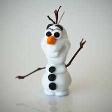Disney's Family site has all sorts of crafts and goodies on it. Including a tutorial on how to make a polymer clay Olaf figure. The cute snowman is from the insanely popular movie Frozen. Crea Fimo, Fimo Clay, Polymer Clay Projects, Polymer Clay Charms, Polymer Clay Creations, Clay Crafts, Polymer Clay Tutorials, Polymer Clay Disney, Polymer Clay Ornaments