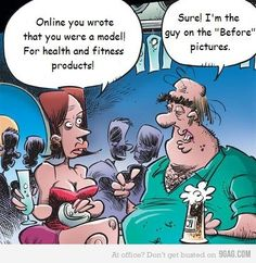 true much of the time with the whole online dating thing - ughh!